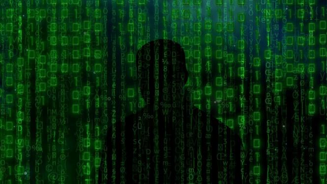 Serangan siber.