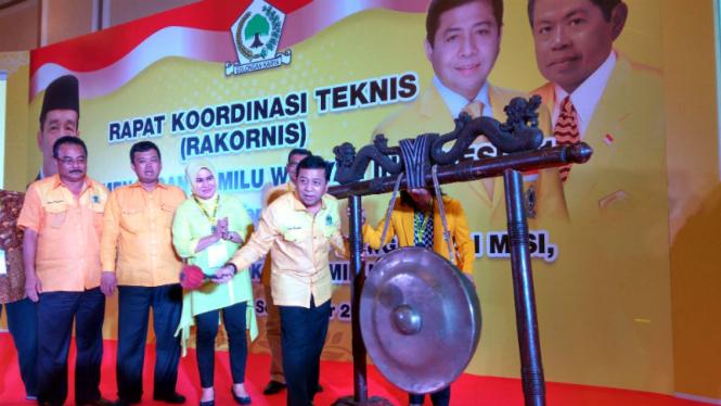 Rakornis DPP Golkar, dibuka oleh Ketua Umum Golkar.
