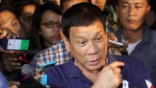 Presiden Filipina Rodrigo Roa Duterte.