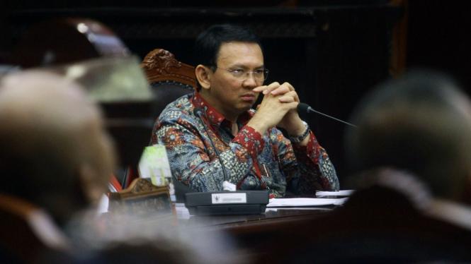 Calon Gubernur DKI Jakarta Basuki Tjahaja Purnama alias Ahok.
