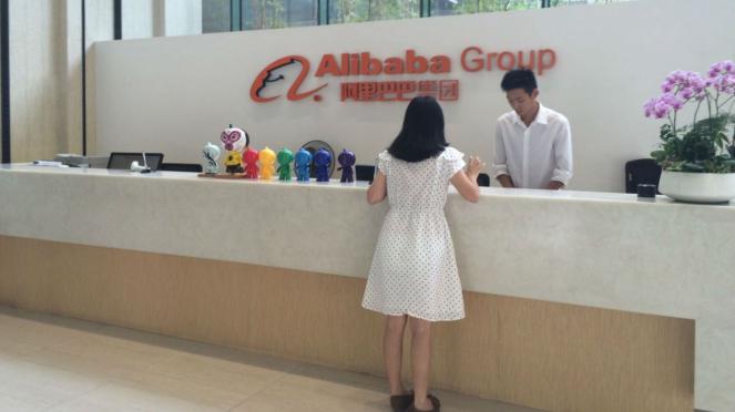 Kantor Alibaba di China