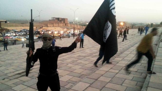 Ilustrasi-Militan ISIS