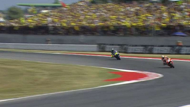 Dani Pedrosa menyusul Valentino Rossi di MotoGP San Marino