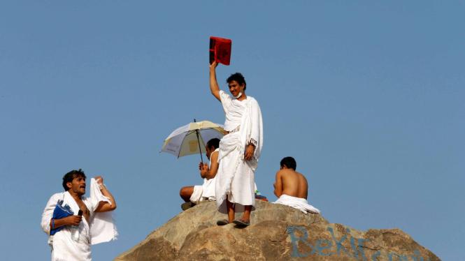 Puncak Ibadah Haji, Jutaan Jemaah Memadati Arafah