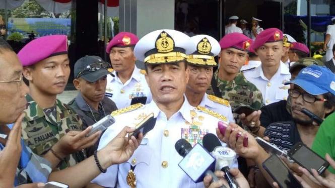 Kepala Staff Angkatan Laut Laksamana TNI Ade Supandi.