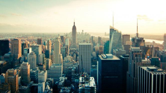 Ilustrasi kota New York