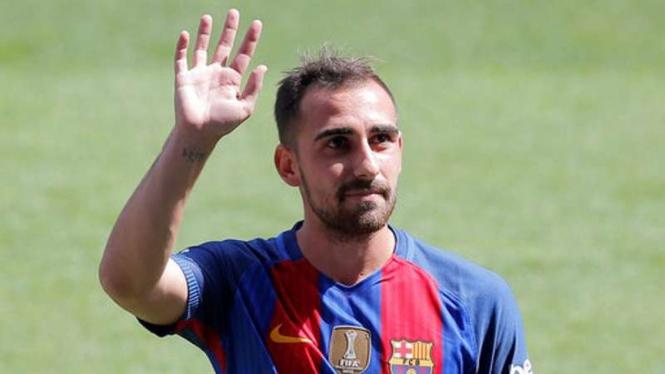Striker Barcelona, Paco Alcacer