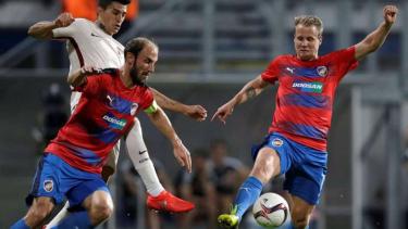 Duel Viktoria Plzen vs AS Roma