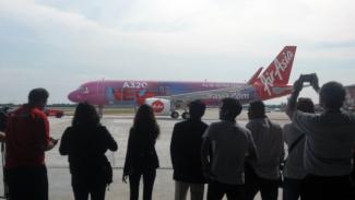 Pesawat  AirAsia.