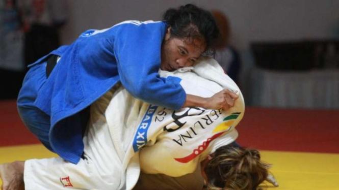 Pertandingan Judo PON XIX/2016 Jawa Barat