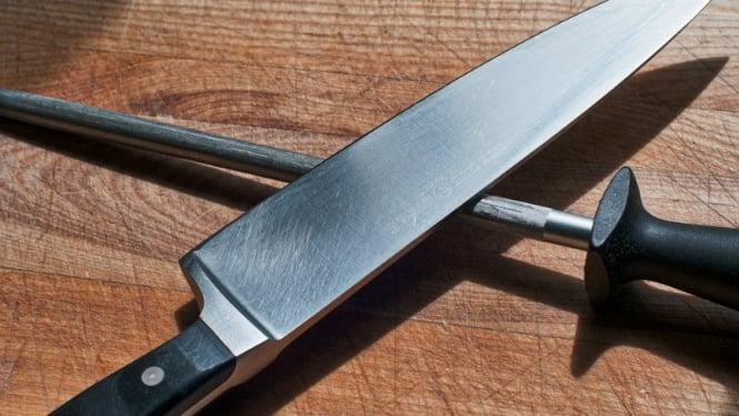Ilustrasi pisau dapur