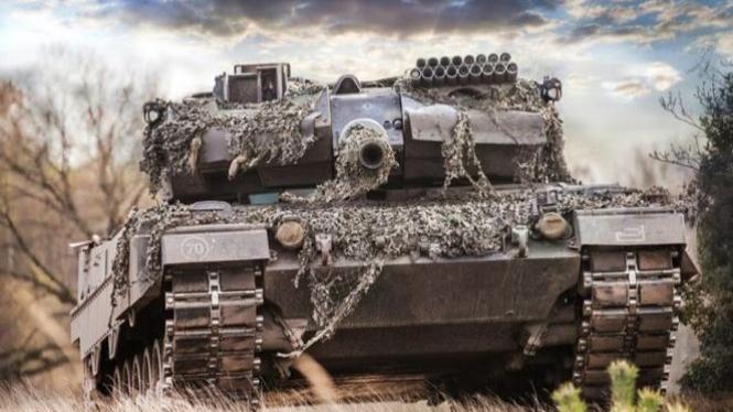 Ilustrasi tank.