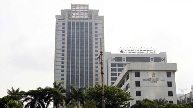 Kantor Pusat Direktorat Jenderal Pajak di Jakarta.