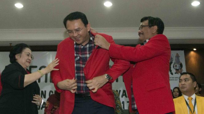 Basuki Thahaja Purnama alias Ahok dan Djarot Saiful Hidayat