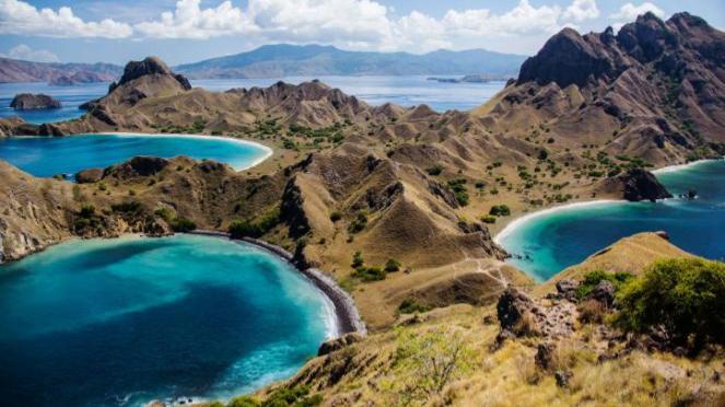 Pulau Padar, Komodo.