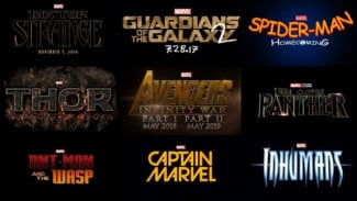 Film-film Marvel.