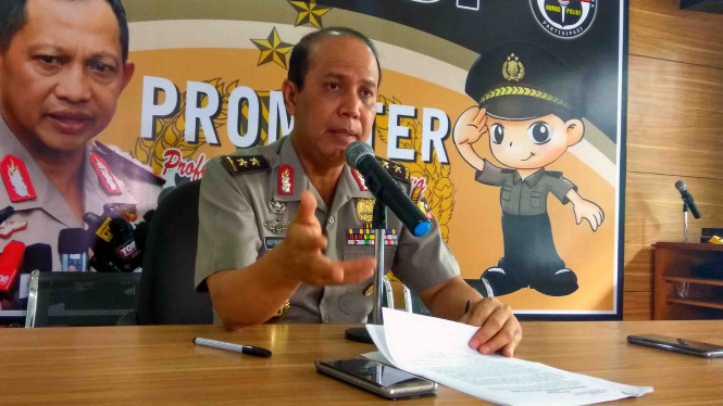 Kepala Divisi Hubungan Masyarakat Mabes Polri, Irjen Pol Boy Rafli Amar.