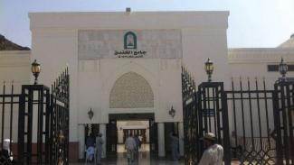 Masjid Khandaq atau Khamsah di Madinah