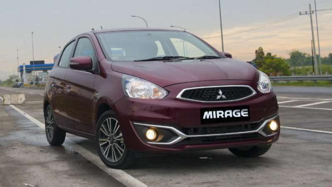 Mitsubishi New Mirage.