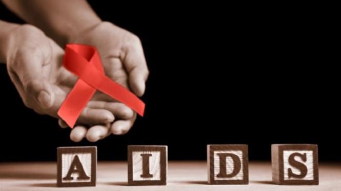 Ilustrasi HIV AIDS .