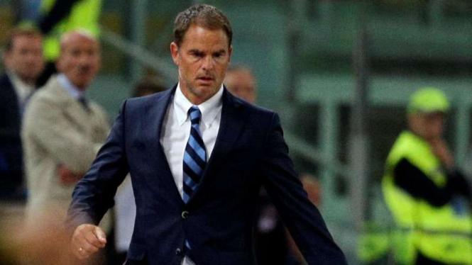 Mantan pelatih Inter Milan, Frank de Boer.