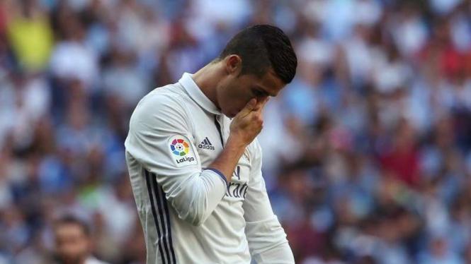 Pemain Real Madrid, Cristiano Ronaldo.