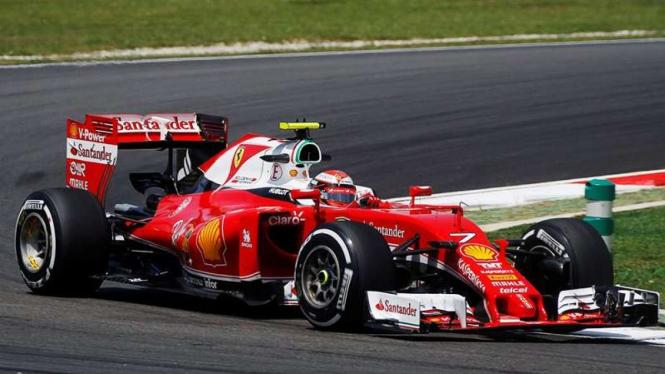 Pembalap Tim Ferrari, Sebastian Vettel