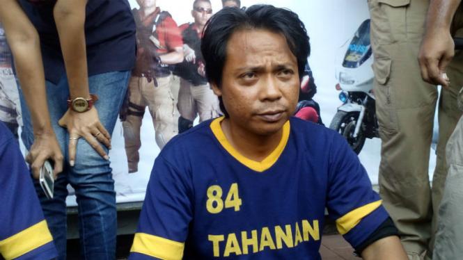 Pemimpin Padepokan Satrio Aji, Anton Hardiyanto alias Aji.