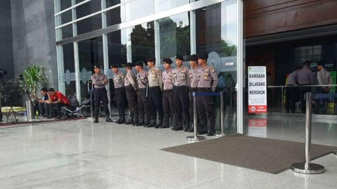 Ilustrasi/Pengamanan di Pengadilan Jakarta Pusat, tempat sidang Jessica digelar.