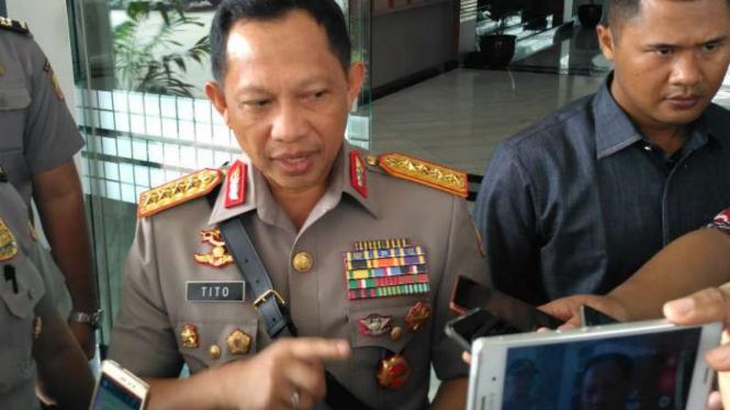 Kapolri Jenderal Polisi Tito Karnavian.
