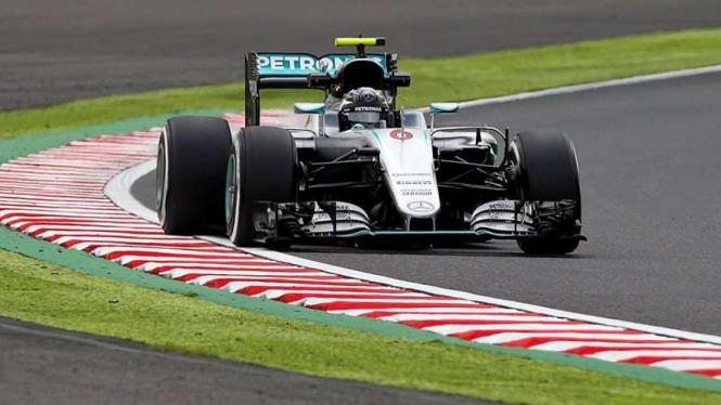 Pembalap Tim Mercedes, Nico Rosberg