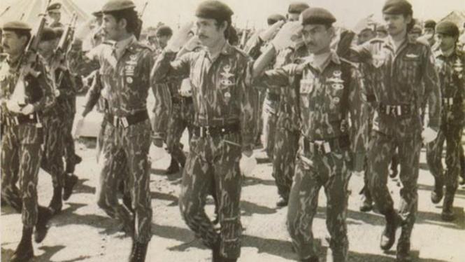 Pasukan Resimen Pelopor.