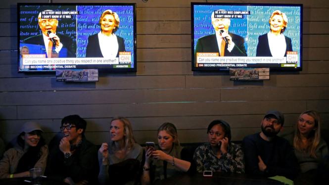 Debat Kedua Capres Amerika Serikat