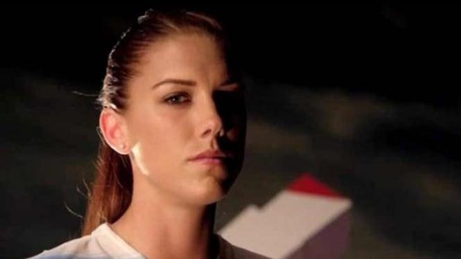 Alex Morgan, pesepak bola wanita.