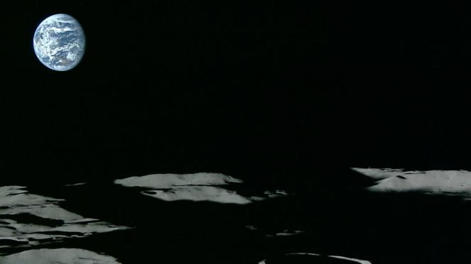 Gambar permukaan Bulan