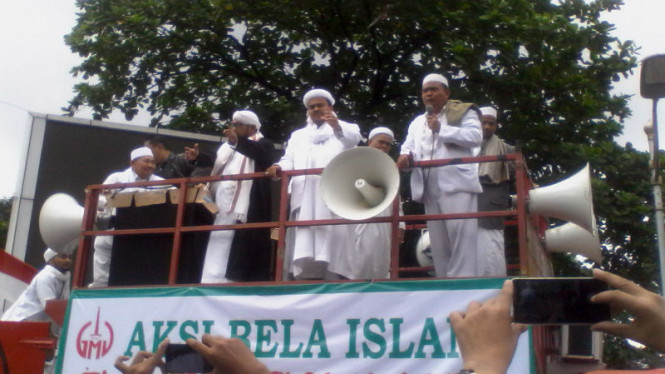 Habib Rizieq Syihab pimpin Aksi Bela Islam