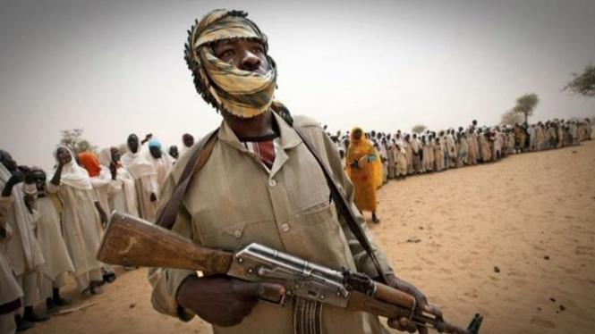 Kondisi di South Kordofan, Sudan.