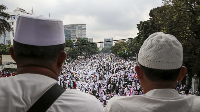 Ilustrasi/Anggota Front Pembela Islam (FPI).