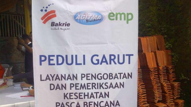 Yayasan Bakrie Amanah gelar pengobatan gratis bagi korban banjir bandang di Garut