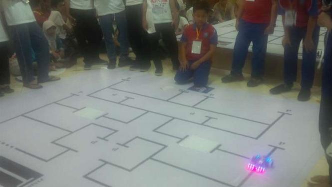 Sebanyak 550 siswa ikut Kompetisi Robot Nasional (KRON) 2016