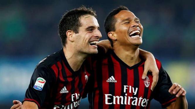 Pemain AC Milan, Jack Bonaventura dan Carlos Bacca