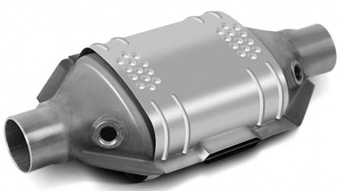 Catalytic converter mobil.