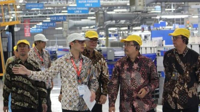 Pabrik PT. TD Automotive Compressor Indonesia (TACI)