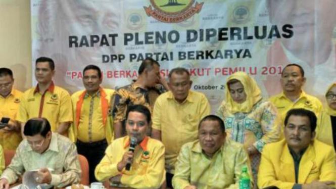 Konferensi Pers Partai Berkarya