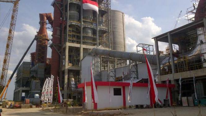 Pabrik Semen Indonesia di Rembang, Jawa Tengah.