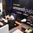 Suasana helpdesk tax amnesty