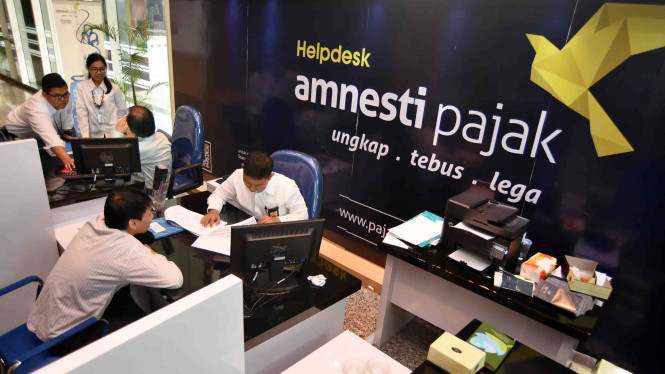 Suasana helpdesk tax amnesty