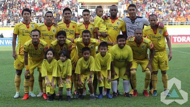 Skuat Sriwijaya FC di Torabika Soccer Championship (TSC) 2016