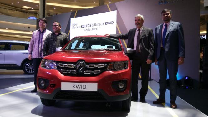 Peluncuran Renault Kwid di Jakarta.