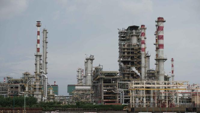 Kilang minyak RU IV Lomanis di Cilacap